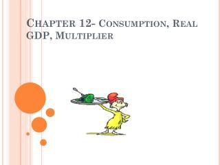 Chapter 12-  Consumption, Real GDP, Multiplier