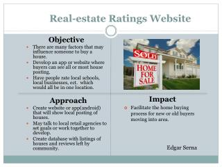 Real-estate Ratings Website