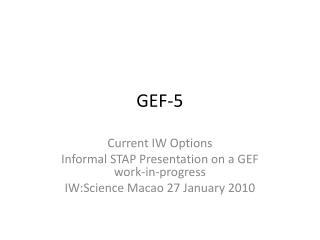 GEF-5