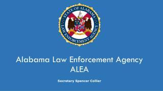 Alabama Law Enforcement Agency ALEA