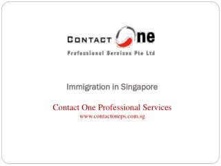 Immigration in Singapore