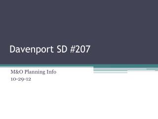 Davenport SD #207