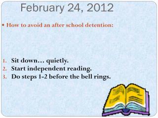 February 24, 2012