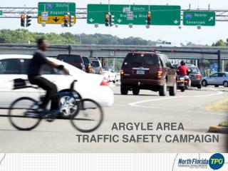 Argyle area  traffic safety campaign