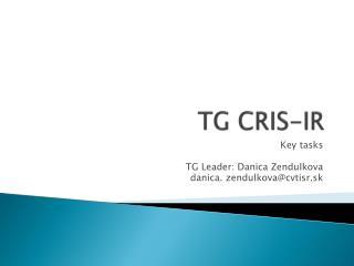 TG CRIS-IR