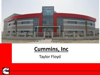Cummins,  Inc