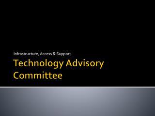 Technology Advisory Committee