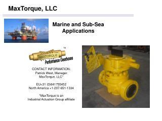 MaxTorque, LLC