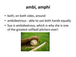 ambi ,  amphi
