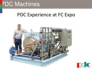 PDC Experience at FC Expo