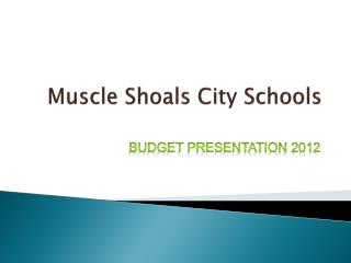 Muscle Shoals City Schools