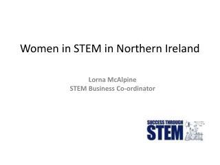 Women in STEM in Northern Ireland