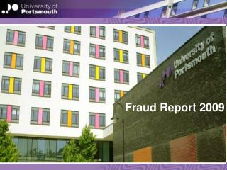 Fraud Report 2009