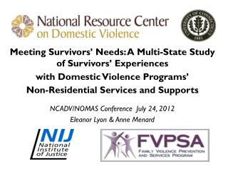 Meeting Survivors' Needs: A Multi-State Study of Survivors' Experiences