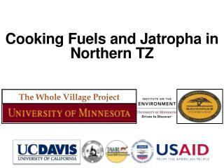 Cooking Fuels and  Jatropha  in Northern TZ