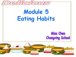 Module 5 Eating Habits