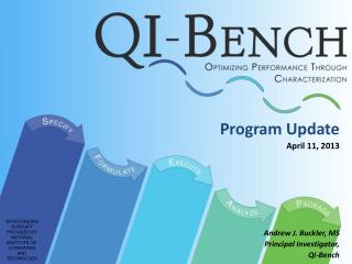 Program Update April 11, 2013 Andrew J. Buckler, MS Principal Investigator, QI-Bench