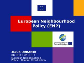 European Neighbourhood Policy ENP