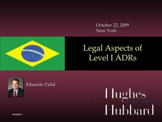Legal Aspects of  Level I  ADRs