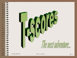 T-scores
