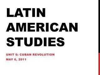 Latin American studies