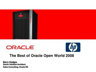 The Best of Oracle Open World 2008