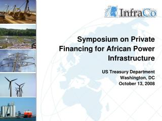 InfraCo Overview