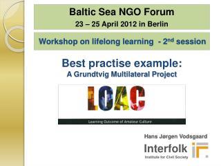 Workshop on lifelong learning  - 2 nd  session