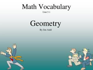 Math Vocabulary Unit 5 1