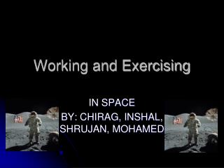 Working and Exercising