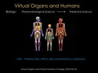 PwC:    Pharma 2020: Virtual R&D (Mathematical  Modeling )