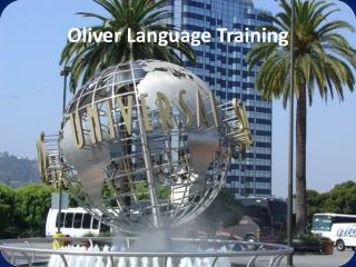 Oliver Language Training