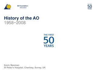 History of the AO