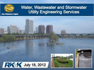 Water, Wastewater and Stormwater Utility Engineering Services