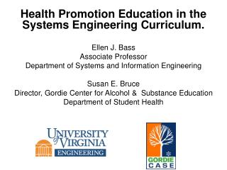 Health Promotion Education in the Systems Engineering Curriculum.