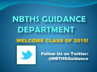 NBTHS GUIDANCE DEPARTMENT