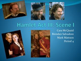 Hamlet Act III: Scene I
