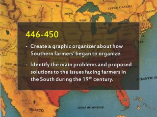 The Southern  Agrarian Revolt