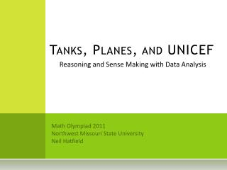 Tanks, Planes, and UNICEF