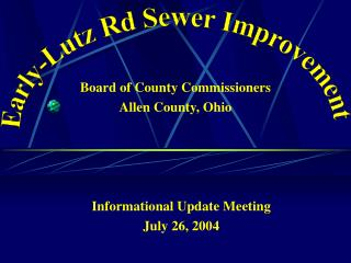 Board of County Commissioners Allen County, Ohio