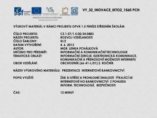 V Y_32_INOVACE_ IKTO2 _ 15 60  PCH