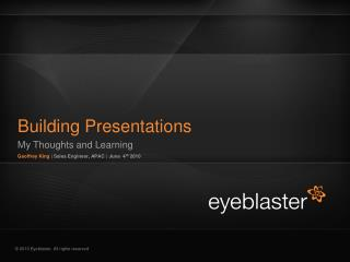 Building Presentations