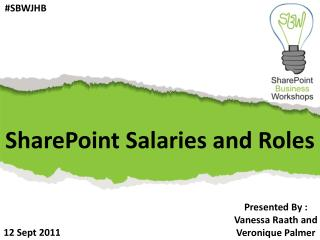 SharePoint Salaries and Roles