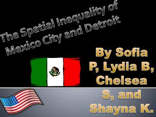 The Spatial Inequality of Mexico City and Detroit
