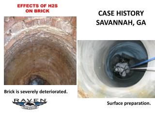 EFFECTS OF H2S ON BRICK