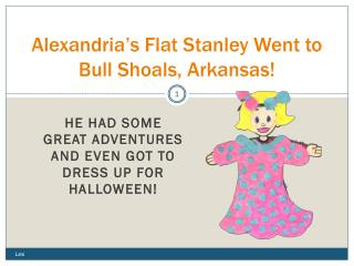 Alexandria's Flat Stanley Went to Bull Shoals, Arkansas!