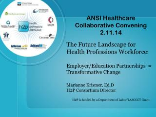 A NSI Healthcare Collaborative Convening  2.11.14