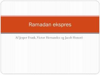 Ramadan ekspres