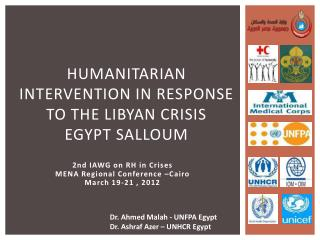 Humanitarian intervention in response to the Libyan crisis Egypt  salloum