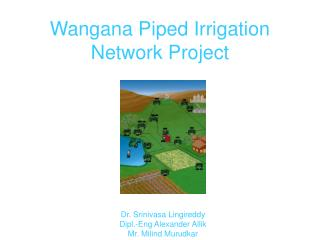 Wangana Piped Irrigation Network Project
